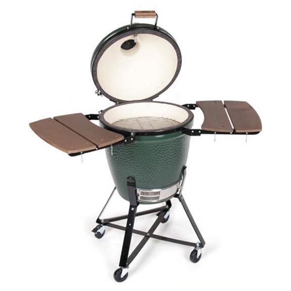 Egg Chair Met Standaard.Big Green Egg Medium Met Onderstel En Zijtafels Kookgekfilip Nl